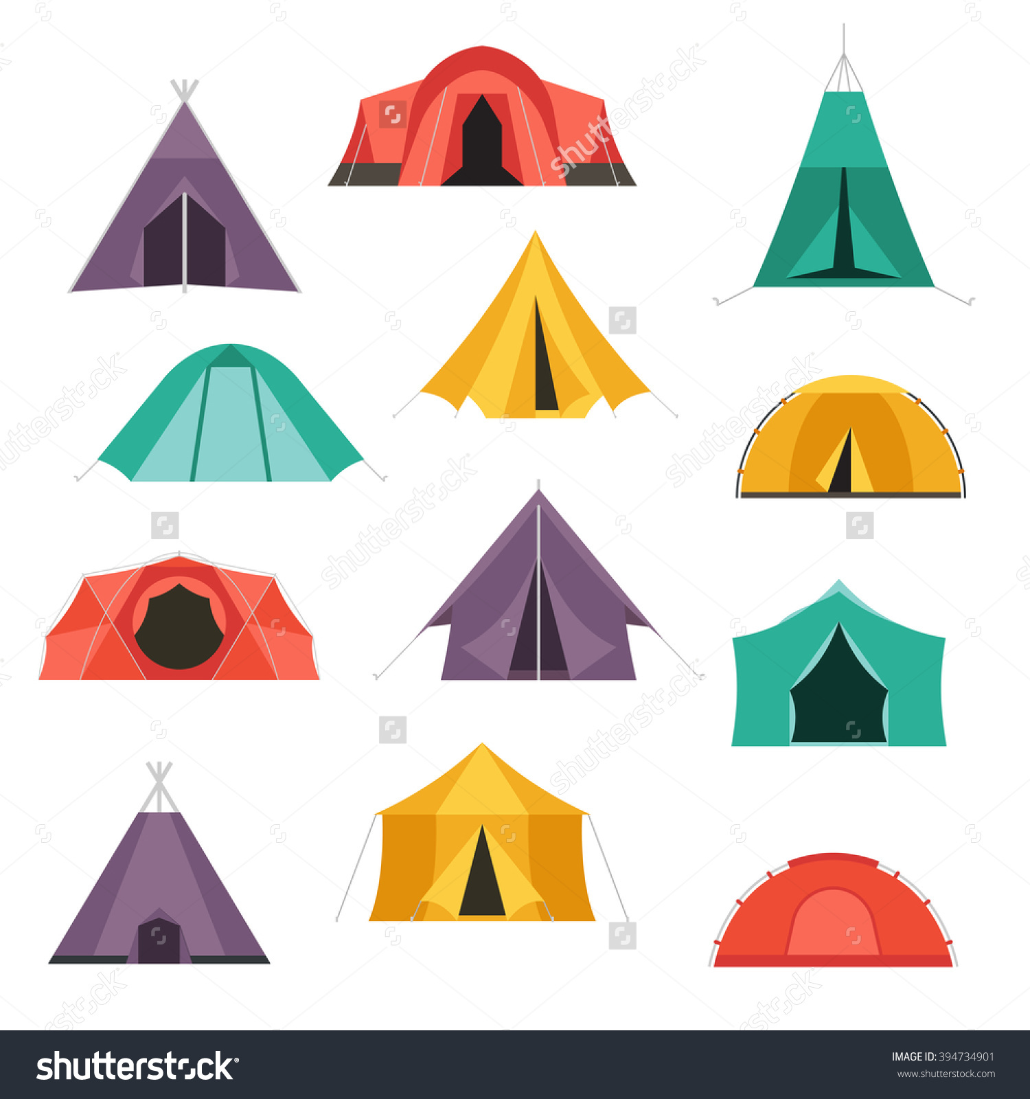 tent camping outline clipart - Clipground