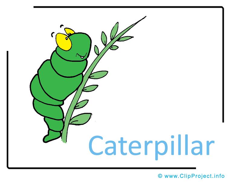 Caterpillar Clipart Image free.