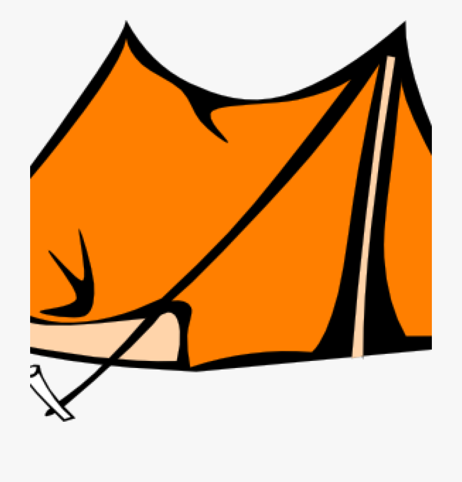 Tent Clipart Orange Tent Clip Art At Clker Vector Clip.