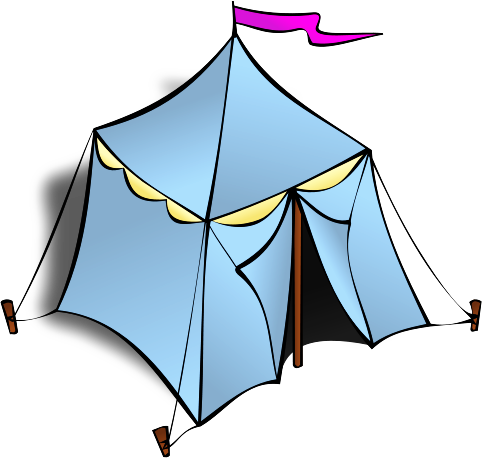 Free Tent Clipart.