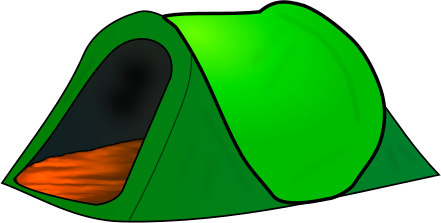 Clip art tents craft projects holidays clipart clipartoons.