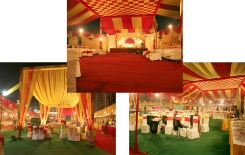 Tent House Decoration Service, Tent Decoration Services.