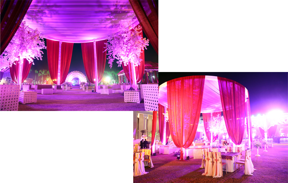Tent House Caterers and Decorators in Noida, Delhi NCR A.