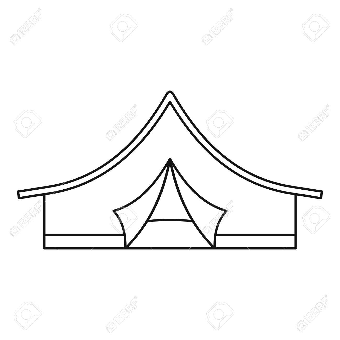 Tent Outline Cliparts Free Download Clip Art.