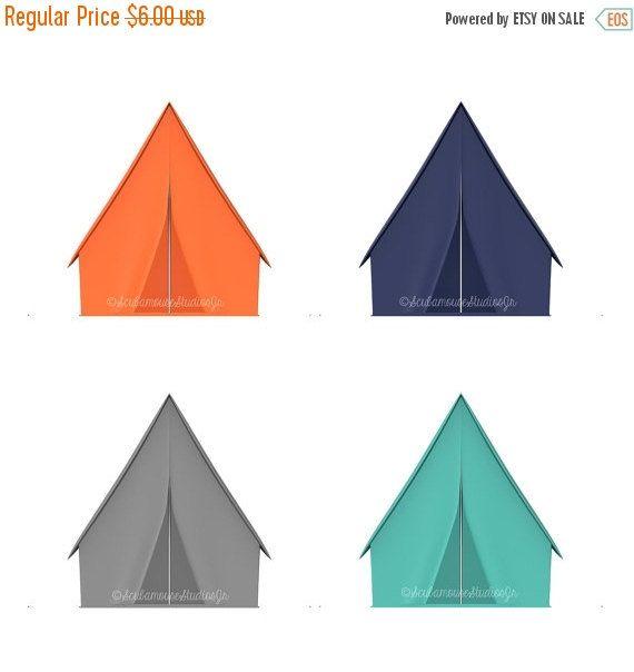 THRU 12/12 Tent Clip Art, Camping Clipart, outdoor adventure clip.