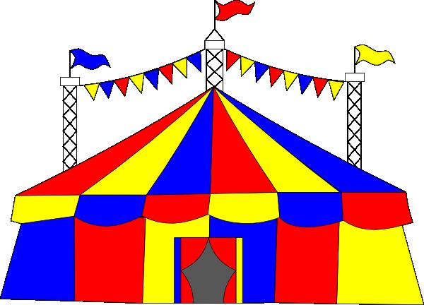 Big Top Tent Clip Art at Clker.com.
