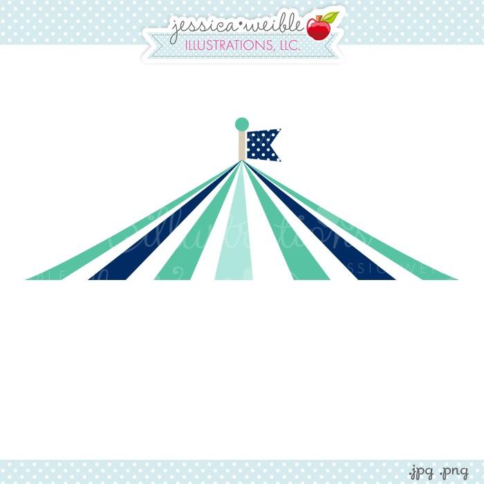 Circus Tent Top Clipart.