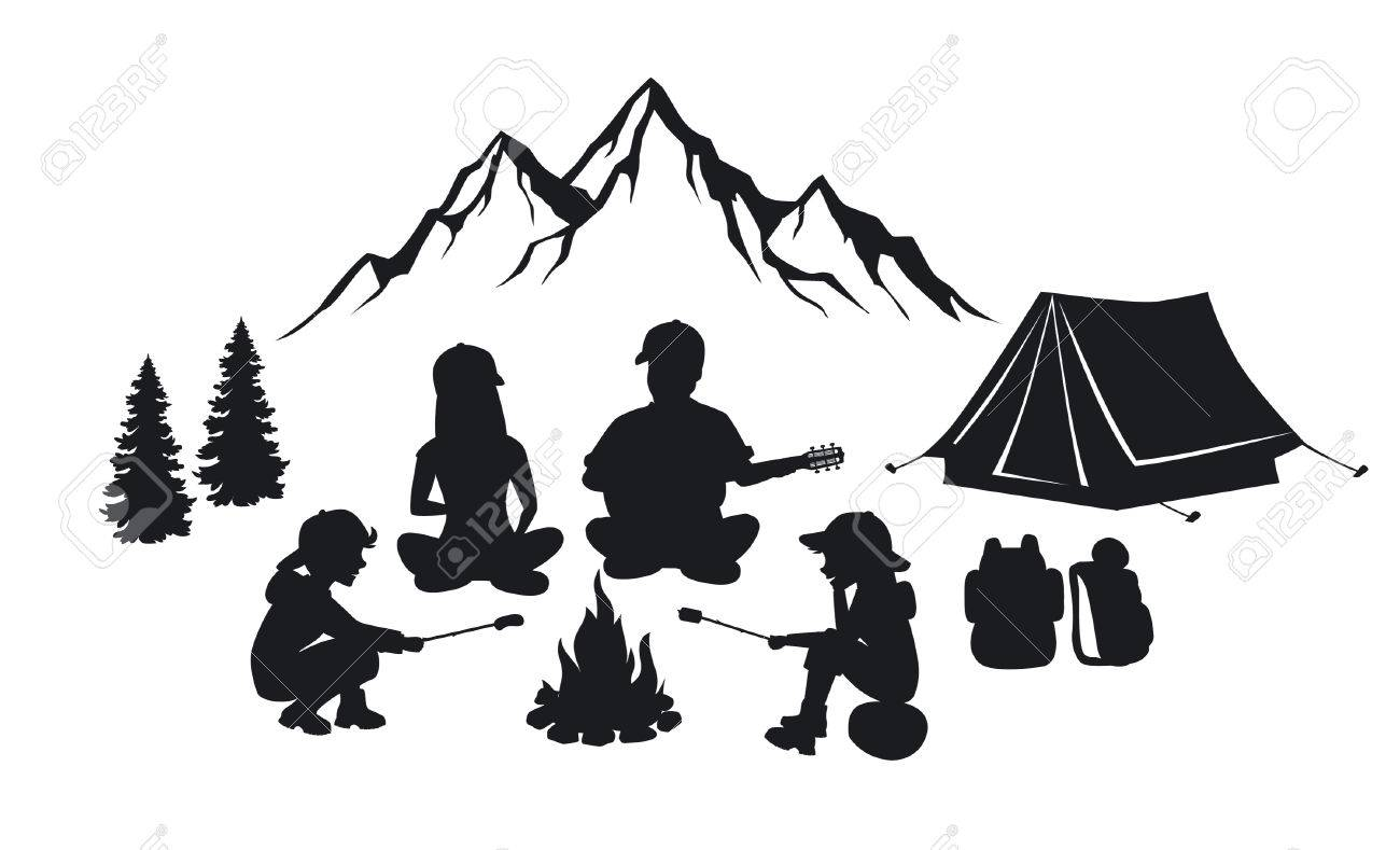 1391 Tent free clipart.