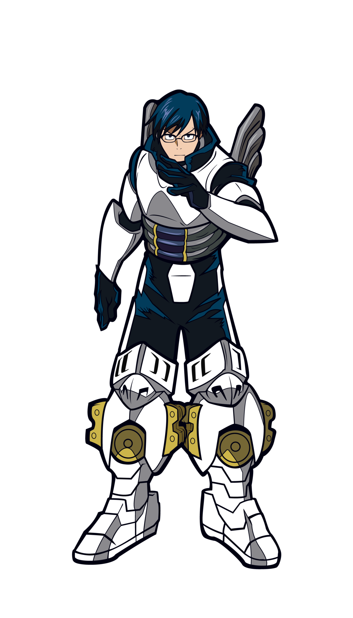 My Hero Academia Tenya Iida Enamel Pin.