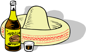 Clipart tequila.