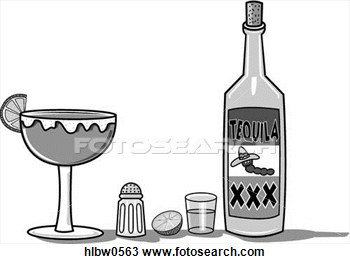 Patron Tequila Clipart.