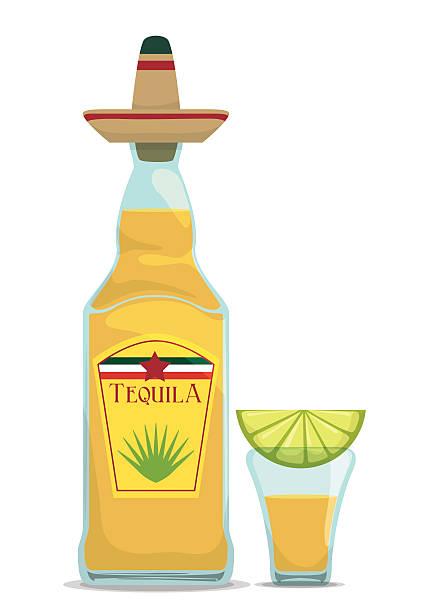 Tequila Bottle Clipart.