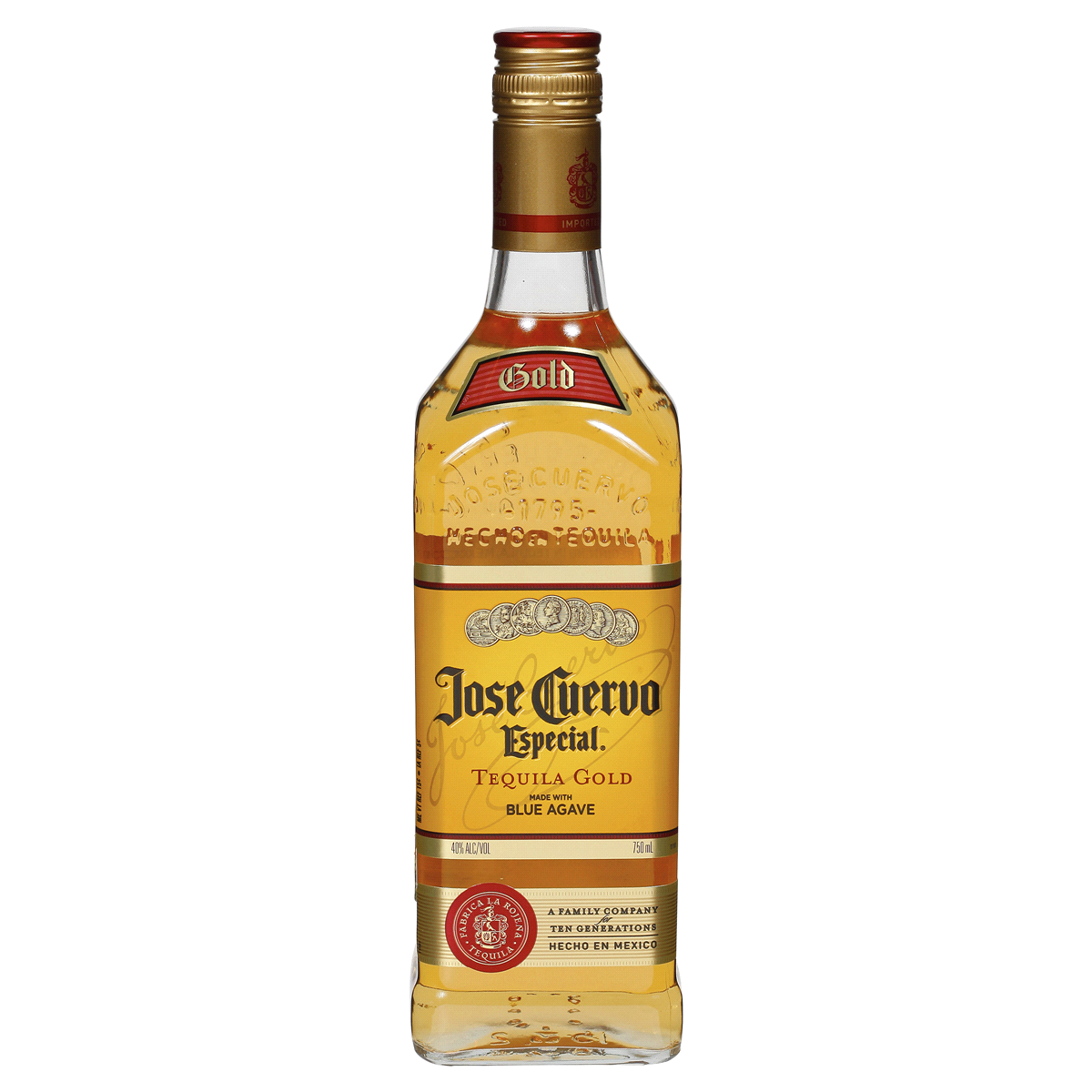 Jose Cuervo Especial Gold Tequila, 750 ml Tequila.
