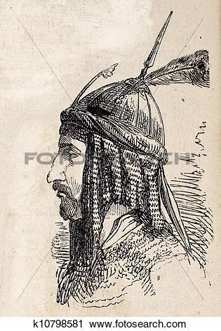 Clipart of Persian ter k10798581.