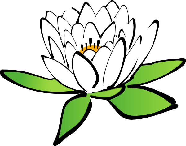 Lotus Flower Clip Art at Clker.com.