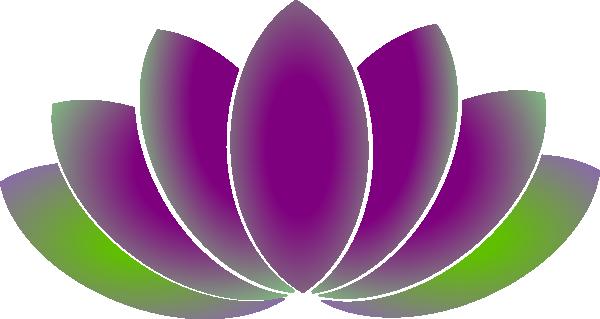 free blue lotus flower clip art - photo #4
