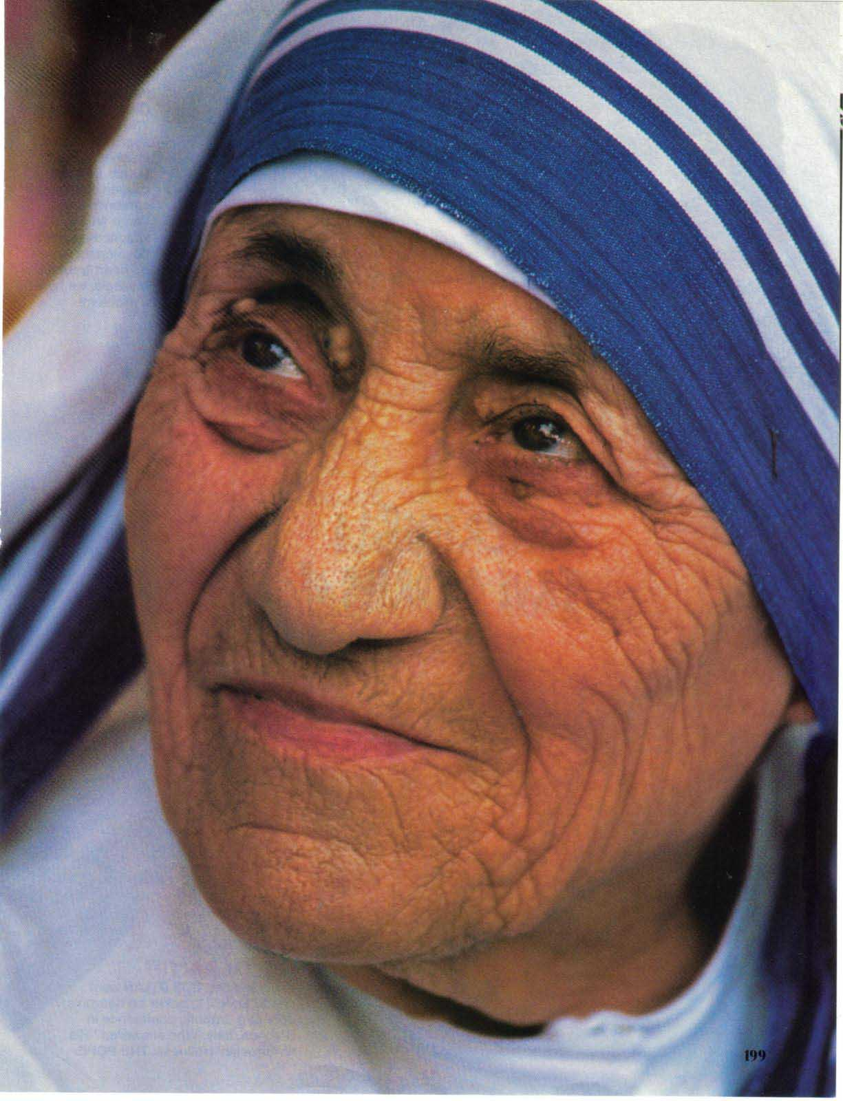 CLIP ARTS AND IMAGES OF INDIA: MOTHER TERESA.