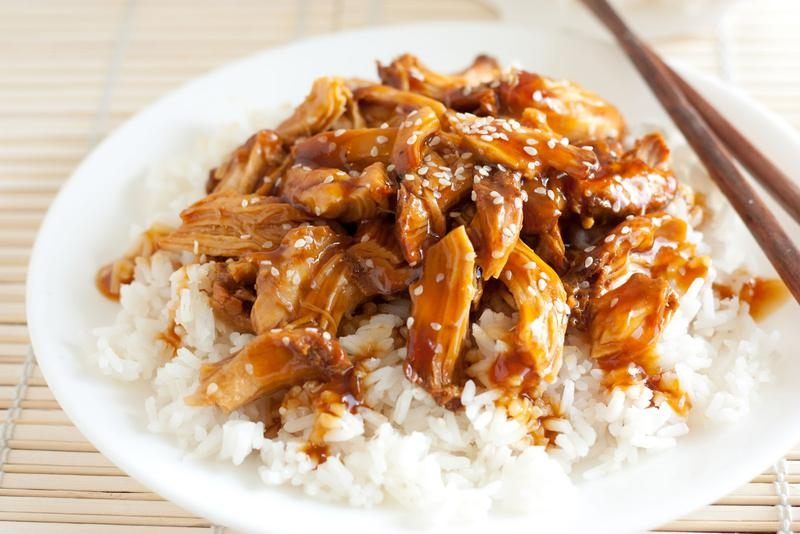 Teriyaki Chicken Clipart.