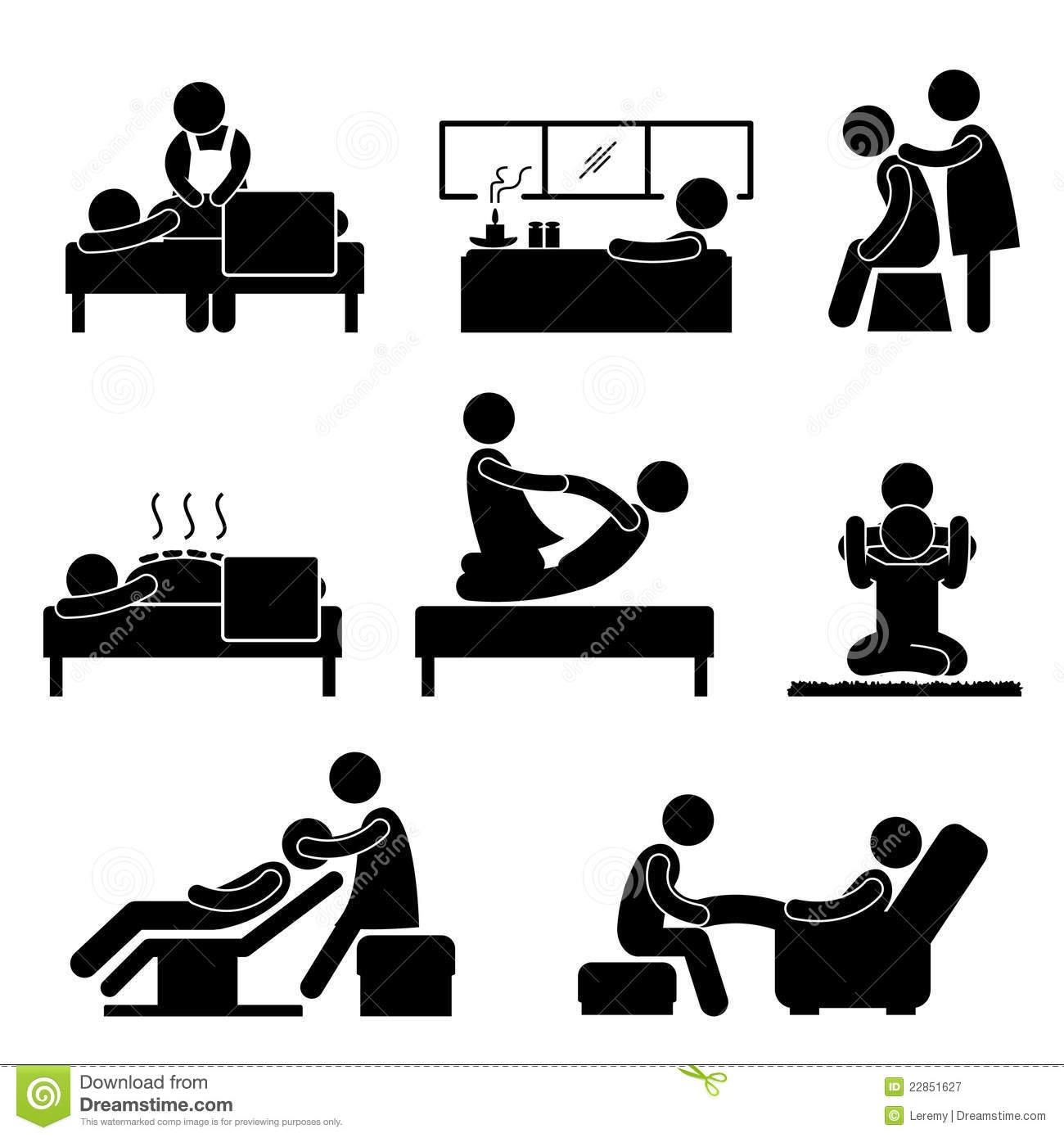 Ícone De Aromatherapy Do Wellness Da Terapia Dos Termas Da.