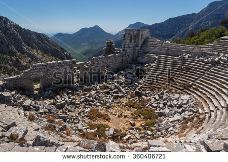 Termessos Stock Photos, Royalty.
