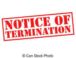 Notice termination Illustrations and Clip Art. 375 Notice.
