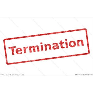 Termination Stamp Stock Photo Stock Image Clipart Vector by.