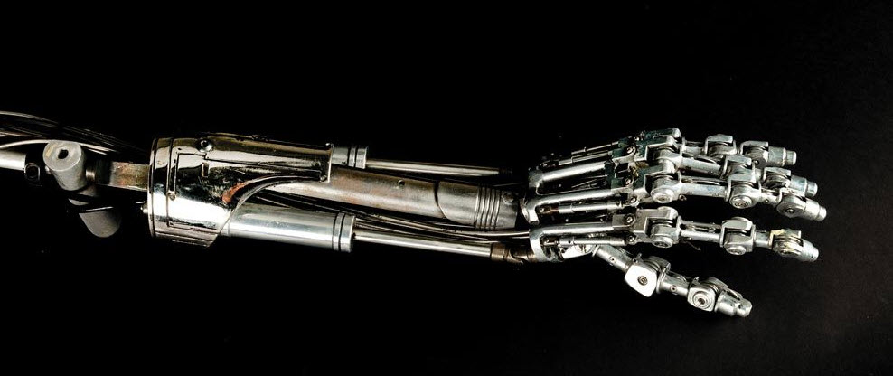 Terminator Hand Png (+).