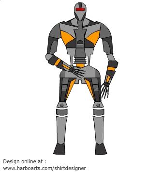Download : Terminator Robot.