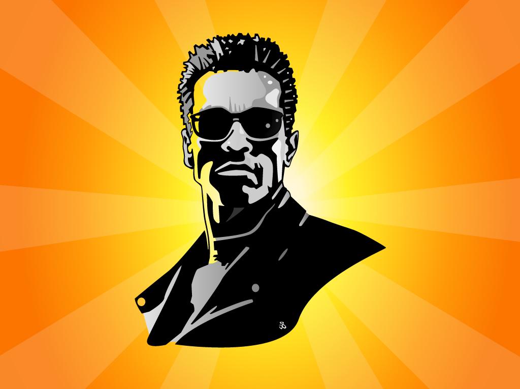 Terminator Vector Vector Art & Graphics.