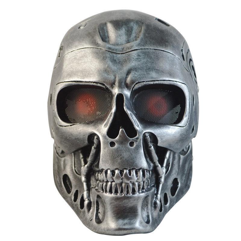 Terminator Half Face Png (+).