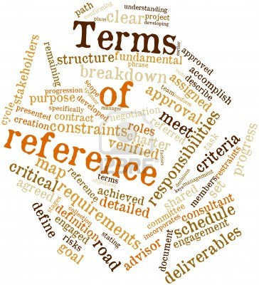 Terms of Reference.