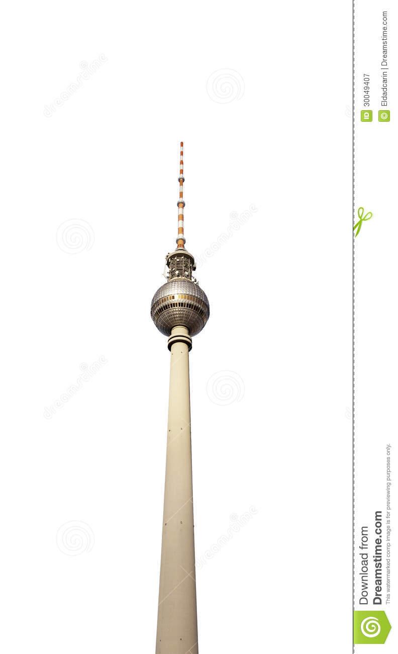 Fernsehturm berlin clipart.