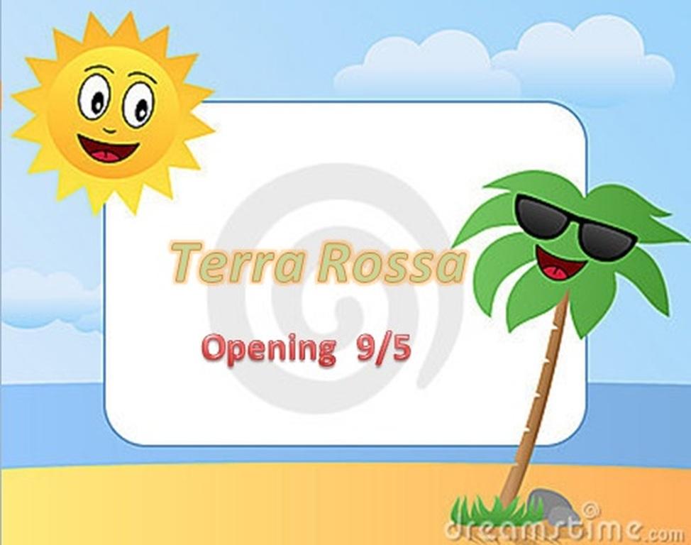 Πρώτος Καφές, Πρώτο Μπάνιο'' στο Terra Rossa.