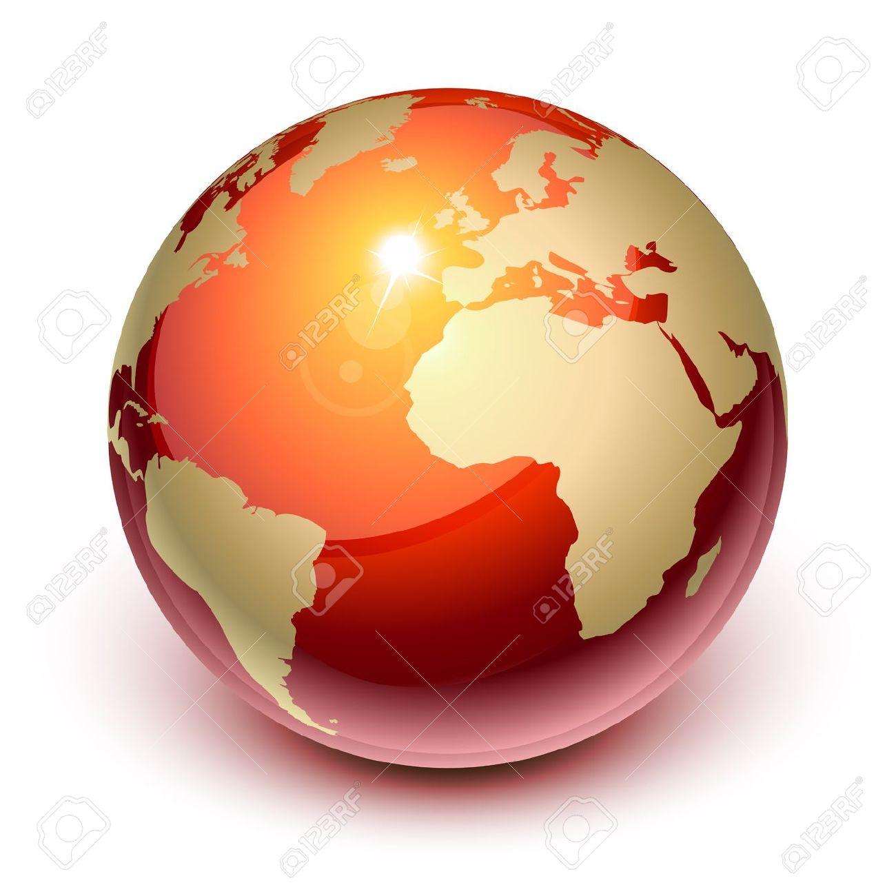 Terra Rossa Da Europa E Africa Clipart Royalty.
