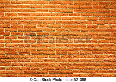 Pictures of Terra cotta brick wall.