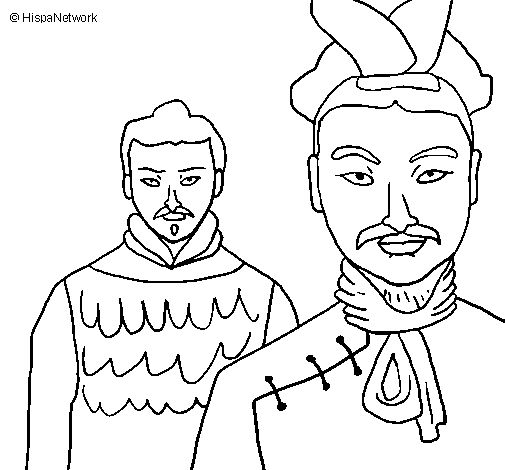 Terracotta warriors clipart.