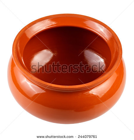 Clay Pot Stock Images, Royalty.