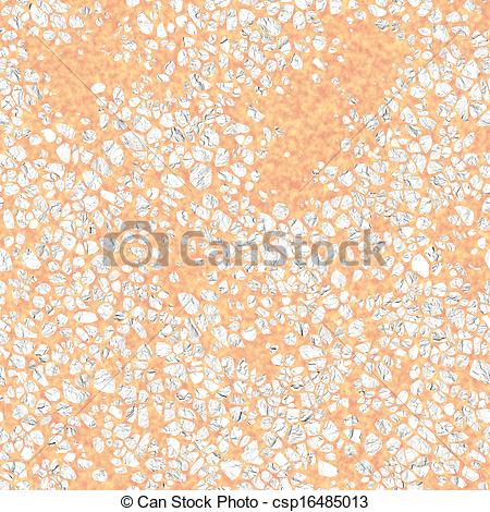 Clipart of Terrazzo. Seamless texture. csp16485013.