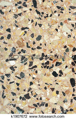 Stock Photo of Terrazzo paving (Venice) k1907672.