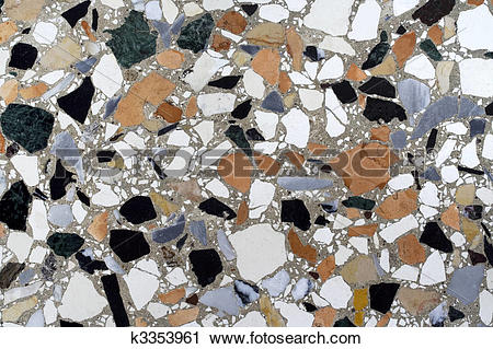 Stock Photography of Terrazzo paving (Venice) k3353961.