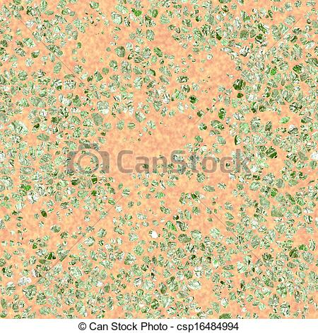 Stock Illustration of Terrazzo. Seamless texture. csp16484994.