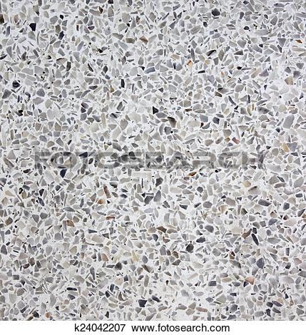 Stock Illustration of terrazzo texture for background k24042207.