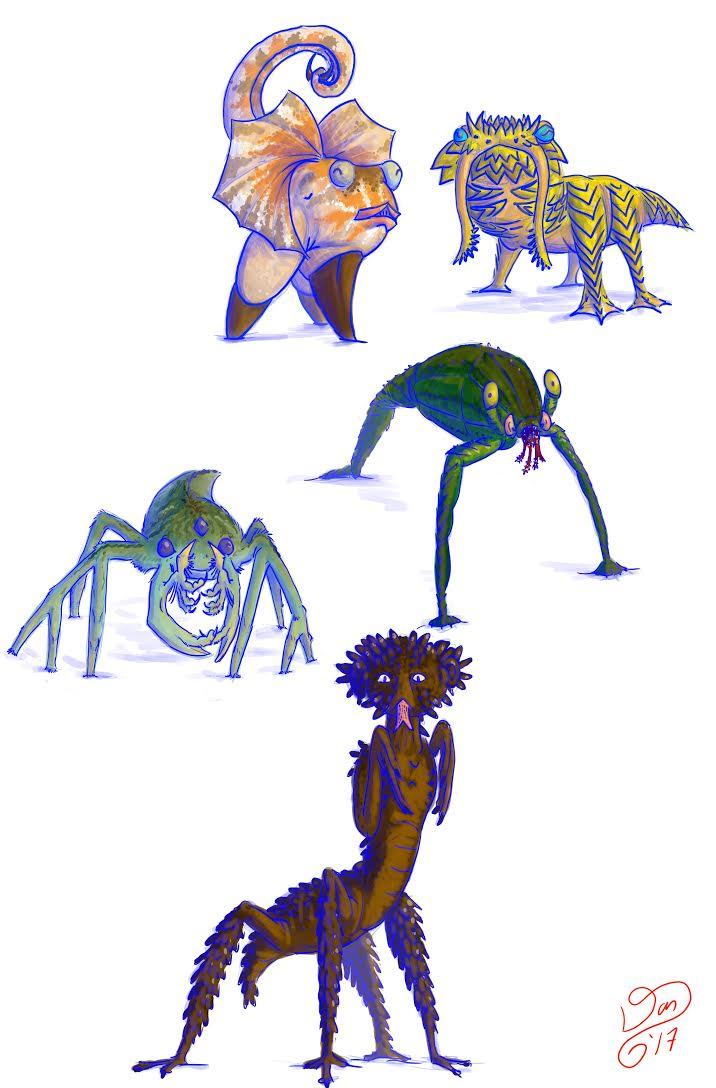 Terrestrial Vertebrates.