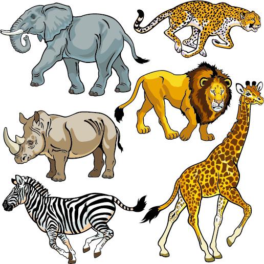 Wild animal clip art free vector download (212,819 Free vector.
