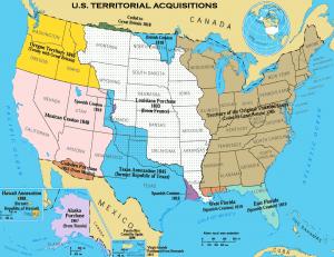 U.S. Territorial Acquisitions Clip Art Download.
