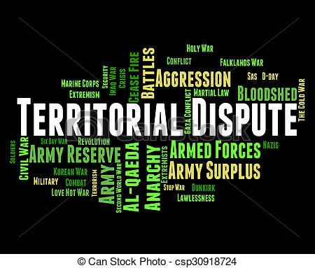 Territorial dispute Stock Illustrations. 8 Territorial dispute.