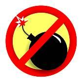 No terrorism clipart.
