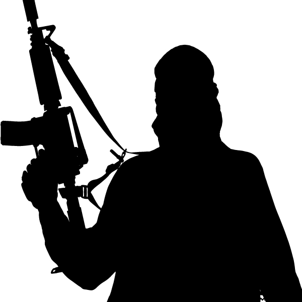 Free Terrorist Vector Free Download Silhouette Clip Art.