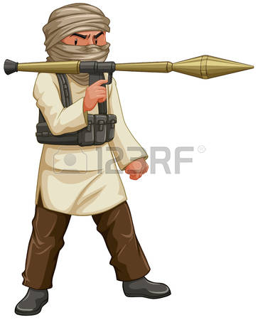9,616 Terrorist Cliparts, Stock Vector And Royalty Free Terrorist.