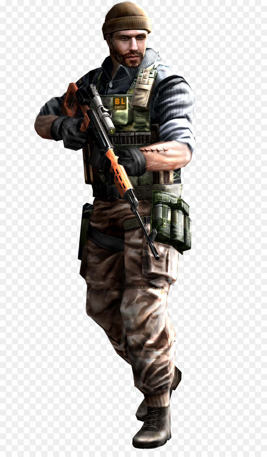 Csgo Transparent Terrorist PNG Counter.